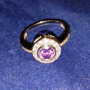 Jewelry - Amethyst and silver ring